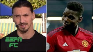 Zlatan Ibrahimovic: Paul Pogba's happier at Man United without Mourinho | Premier League width=