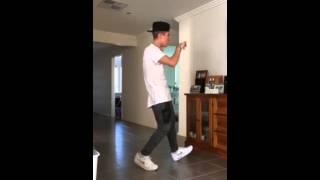 Liam Ferrari Fall Justin Bieber Dance Cover
