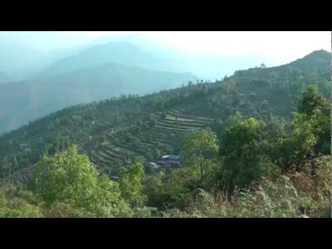 Nepal 2012 Thulakot Sunrise Hike – Villagers & Views.mp4