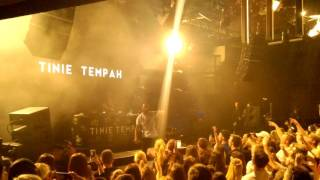 Tinie Tempah written in the Stars live in Frankfurt Tour 2017