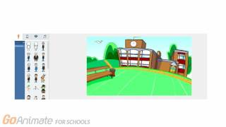 How to get non business themes back on goanimate4school videos