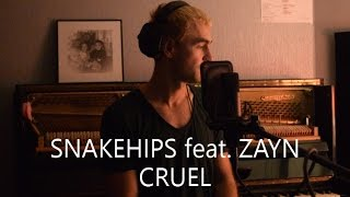 Snakehips - Cruel (feat. Zayn) - Cover by Illia Grabar