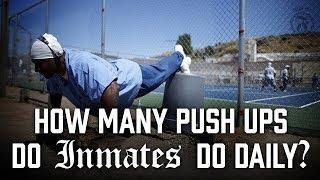 How many Push ups do Inmates do daily? - Prison Talk 5.13