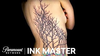 This Canvas Is In Love With Her New Tat - Ink Master: Redemption, Season 2