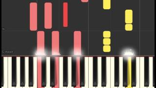 Miss Peregrine's Home for Peculiar Children: Wish that you were here (Piano sheet & Synthesia)