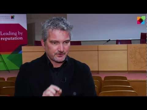 Entrevista a Christopher Smith en el marco de la Jornada de Innovación en Comunicación 2013