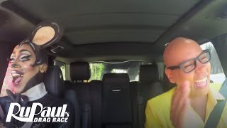 Drag Queen Carpool: Nina Bo'Nina Brown | RuPaul's Drag Race Season 9 | Now on VH1!