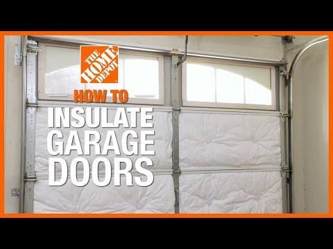 How to Insulate Garage Doors