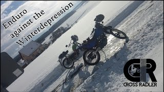 Enduro against the Winterdepression | Kreidler | Suzuki | Crash | Fails