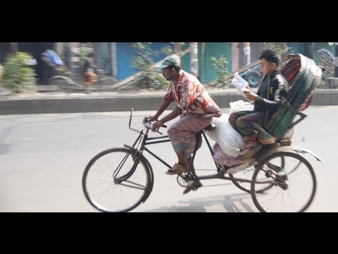 Rickshaw Ride in Old Dhaka, Bangladesh & near the India – Bangladesh border