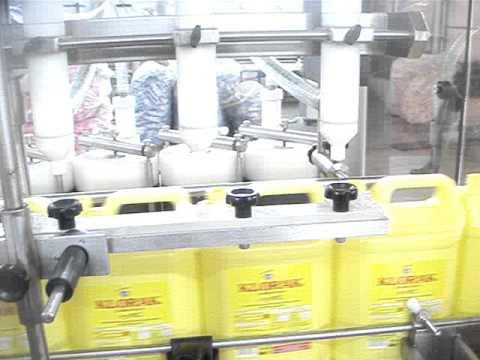 Çamaşır suyu dolum makinası    ENDROMAK MAKİNA deterjan dolum makinası