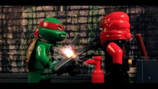 LEGO: Ninjago 2014 Rebooted Battle Kai VS TMNT Raph (Brickfilm)