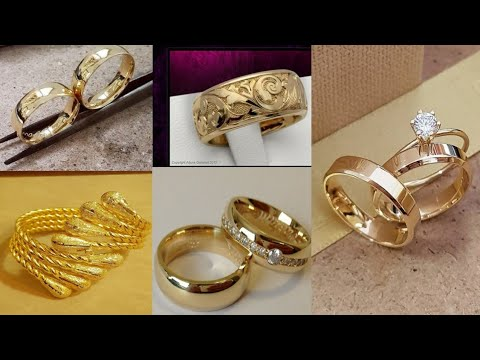 75c081bfa Latest gold ring designs for women//Gold rings designs with weight and  price//New gold rings designs - YouTube
