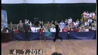 Daniele Graziosi - Desislava Pencheva /Cha cha cha