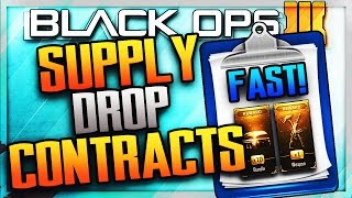 """""""COMPLETE SPECIAL CONTRACTS FAST!"""" Black Ops 3 Fastest Way To Complete Special Contracts! (COD BO3)"""