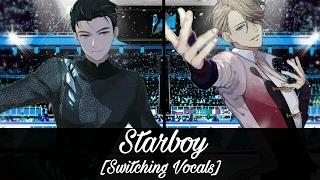 Nightcore - Starboy (Switching Vocals)