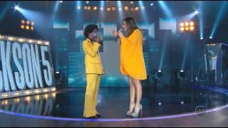 Máquina da Fama (16/06/14) - Cover mirim imita Michael na época do Jackson 5