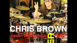CHRIS BROWN ZERO DRUM COVER BASS COVER