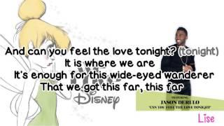 Jason Derulo - Can You Feel the Love Tonight (Lyrics)
