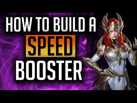 RAID: Shadow Legends | How to build a speed booster / lead!