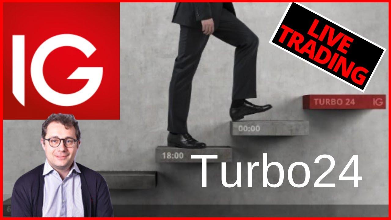 Trading live con i certificati Turbo24 - 05.02.2020