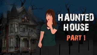 Haunted House Halloween Animated Horror Story - Part 1 (English)