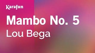 Karaoke Mambo No. 5 - Lou Bega *