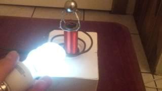 Bobina de Tesla casera (Small Tesla Coil)pruebas2