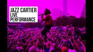 Watch Jazz Cartier Perform New Religion In Montreal || Mural Festival