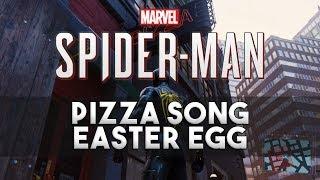 Marvel's Spider-Man PS4 Pizza Theme Song Easter Egg