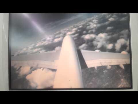 Flight Air France A380 AF990 Paris Johannesburg