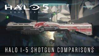 Halo 5: Guardians - Shotgun Comparisons (Halo 1-5)