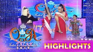 It's Showtime Miss Q and A: Vice checks the armpits of two Miss Q & A candidates