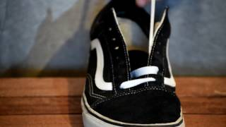 HOW TO LACE VANS | AMAZING SIMPLY | STYLE YOUR VANS