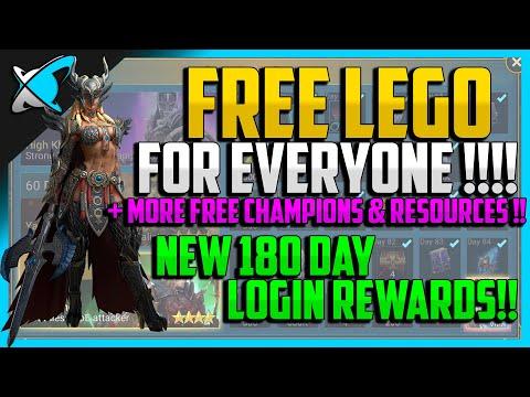 RAID: Shadow Legends | FREE LEGENDARY FOR EVERYONE | New 180 Day Loyalty Program !!!!