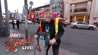 Mark Hamill & Jimmy Kimmel Get into a Star War