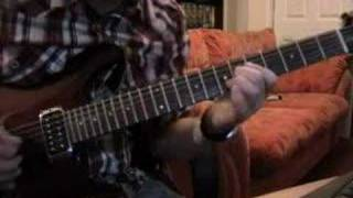 "Iron Maiden Guitar Lesson ""Aces High Solo"" part 2"