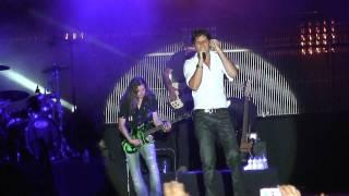 Mickael Carreira Não voltes agora em vivo Ponte Da Barca Portugal 2009