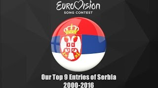 Eurovision 2000-2016: Our Top 9 of Serbia