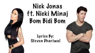 Nick Jonas Bom Bidi Bom ft. Nicki Minaj Lyrics