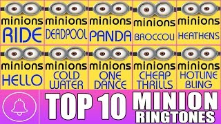 Top 10 Minions Ringtone of the month (Download Links in Description)