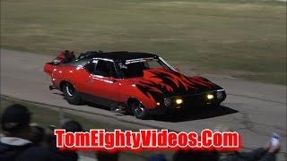 Bryant Goldstone 1973 AMC Javelin Racing at Car Craft Midnight Drags