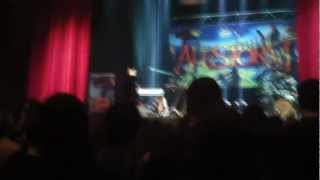 "Alestorm playing the ""Shipwrecked"" remix at the end of their performances"