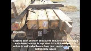 How to Prepare Reclaimed Hand Hewn Beams to Sell Wholesale
