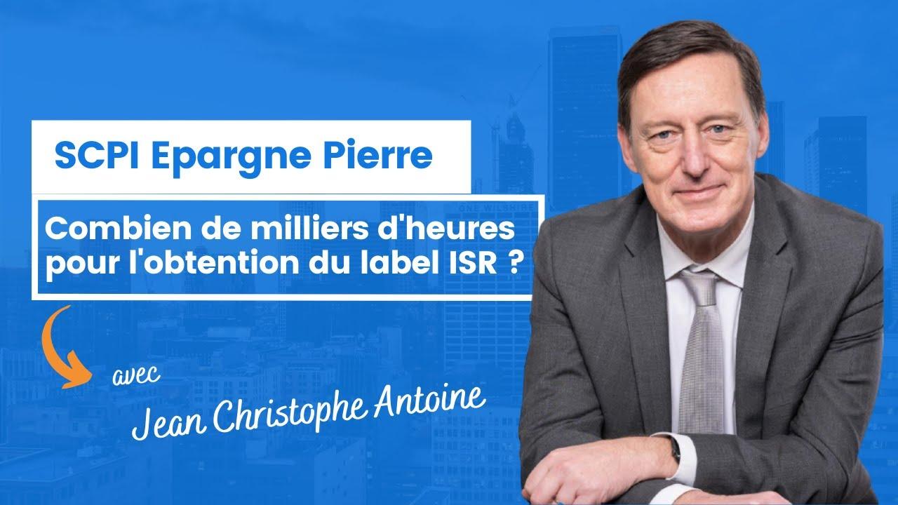 Combien de milliers d'heures pour l'obtention du label ISR ?