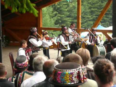 "The ""Hutsuly"" Folk Music Band from Verkhovyna (Ivano-Frankivsk Oblast', Ukraine)"