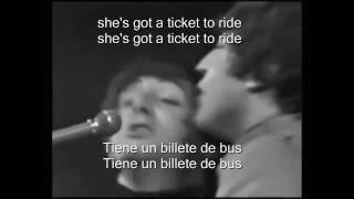 The Beatles Ticket To Ride Live Sub Esp Ing