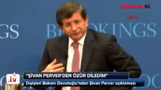 """""""Şivan Perver'den özür diledim"""""""