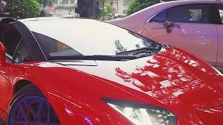 Tuấn Hưng lái siêu xe Ferrari 488 đi dự tiệc cưới