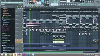 """Distance"" Melodic Dubstep - Fl Studio 12 Play Through - Virtual Riot Feel"